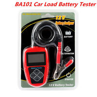 Car Boat Load Battery Tester Engine Battery Analyzer LCD Display 12V BA101 CCA