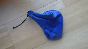 Schaltsack blaue Leder Manchette, VW Golf II,  Modelle mit manueller Schaltung