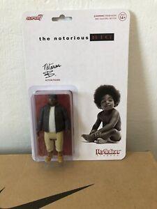 Super7 ReAction Figure The Notorious B.I.G. Biggie Smalls 2021 Rap MOC 🔥 Uk #4