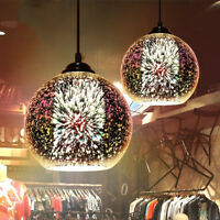 3D Art Modern Glass Ceiling Light chandelier Pendant Dining Lamp Home Bar Decor