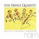 Eberle Quartet Play Barber, Bridge and Gates, , Very Good CD
