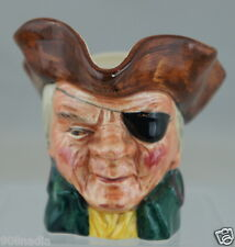 """Vintage Toby Mug """"Cap'N Patch"""" Character Cooper Clayton By Sterling England"""