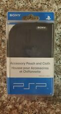 Sony PSP Accessory Pouch and Cloth Playstation Portable PS Vita Official OEM