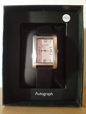 Nicht Wasserbeständige Armbanduhren mit 12-Stunden-Zifferblatt und Rechteck für Herren
