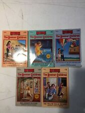 Lot Of 5 THE BOXCAR CHILDREN SERIES BOOKS By Gertrude Chandler Warner Mixed Lot