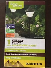 Better Homes and Gardens 1 Piece Archdale QuickFit Led Pathway Light New/other
