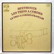 TRIO A CORDES FRANCAIS - BEETHOVEN string trios & serenades EMI 3xLPs box EX++