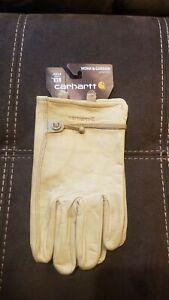 Carhartt leather gloves