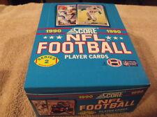 1990 SCORE - NFL Football Factory Box - Series 2 - JEFF GEORGE Rookie Card!