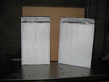 100 Xpak White Poly Bubble Mailer Combo Pack 50 1 Amp 50 2