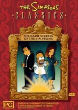 The Simpsons - Dark Secrets Of The Simpsons (DVD, 2006) feat. X-Files