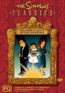 The Simpsons - Dark Secrets Of The Simpsons (DVD, 2004)