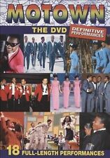 Motown The DVD Definitive Performances Brand New Sealed