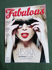 FABULOUS  - UK SUNDAY MAGAZINE - 23 MARCH 2014 - DANNII MINOGUE - DAWN O'PORTER