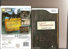 CURSED MOUNTAIN NINTENDO WII  HORROR SCARY