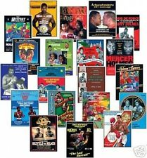 Larry Holmes Boxing Program Cover Trading Card Set FREE UK POSTAGE