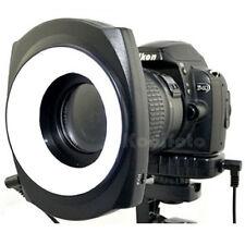 JJC LED-48IO Flash Anular Luz Continua Fotografía Macro Sony Canon Nikon