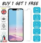 Tempered Glass SCREEN PROTECTOR iPhone 12 11 PRO MAX Mini X, XR, XS, CASE COVER <br/> Buy-1-Get-1 Free- 1st Royal Mail Shipment UK Seller