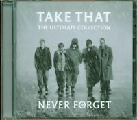 Take That / Robbie Williams - Never Forget The Ultimate Collection Cd Eccellente