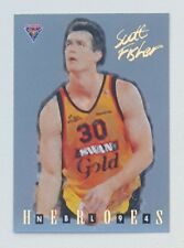 1994 Futera NBL Series II Australian Basketball Scott Fisher Heroes #NH08