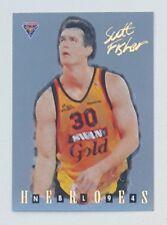 1994 Futera NBL Series II Australian Basketball Scott Fisher Heroes #NH08