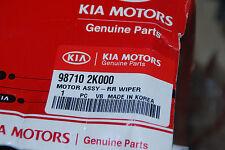 ORIGINAL KIA 987102K000 98710-2K000 WISCHERMOTOR HINTEN SOUL 2009-2013 NEU