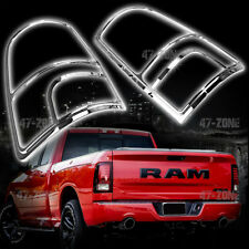 For 2018 Ram 1500 Chrome Tail Light Cover