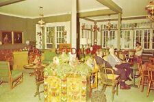 the lobby at SIEBKEN'S RESORT, Mrs Ollie Siebken Moeller, Owner ELKHART LAKE, WI