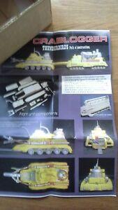 GERRY ANDERSON - Thunderbirds Crablogger Resin & Mix Media Model Kit (BNMIB)
