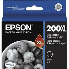 Epson GENUINE 200XL Black Ink (NO RETAIL BOX) EXPRESSION HOME XP-400 XP-410