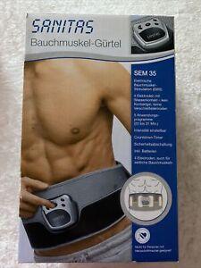 Sanitas Bauchmuskel-Gürtel SEM 35
