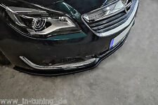 Sonderaktion Frontspoiler Lippe Cuplippe  ABS Opel Insignia ABE Facelift ab 013