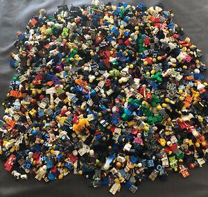 HUGE Lego Minifigure RANDOM LOT Of 500 MINIFIGURES