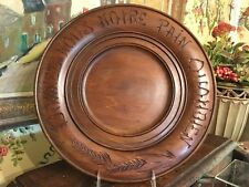 Vintage French Wooden Bread Board Communion Tray