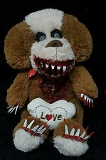 Valentine's Zombie Dog Plush Halloween Haunted Horror Prop