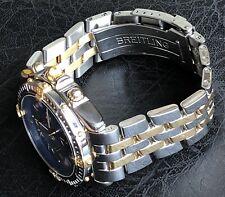 Breitling Chrono Steel & Yellow Gold Crosswind Watch