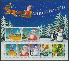 GB 3119 MS3422 Christmas miniature sheet MNH 2012