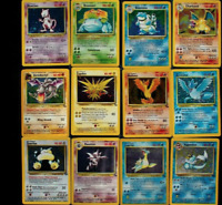 ORIGINAL Pokemon 11 Card Lot ~ 100% Vintage WOTC! 1st Edition + H/RARE Included!