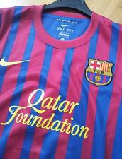 Nike FC Barcelona Fußball Trikot Spanien Gr.S Football Shirt Spain Size S