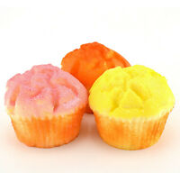 Jumbo Cup Cake Bread Keyboard Hand Pillow Scent Puffs   Charms Toy  LD