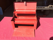 Vintage PROTO Los Angeles 9989 Flying Lady Steel Chest W/ Tray 21 inch Tool Box