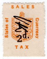(I.B) Guernsey Revenue : Sales Tax ½d (German Occupation)
