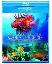 3D Coral Reef: Hunters and the Hunted (Blu-ray 3D + Blu-ray) [2012] [DVD]