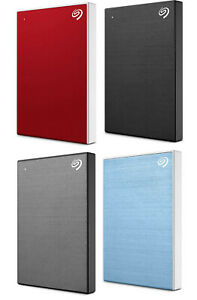 Seagate Expansion BackUp One Touch 1TB 2TB 4TB 5TB Portable External Hard Drive