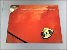 1982 Porsche Audi Original Car Sales Brochure Catalog - 911 928 924 Turbo 5000