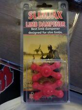 BowJax SlimJax Limb Damper #1028 Red 2-pack 2094