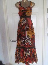 Heine Print Maxi Summer Dress .....UK 10