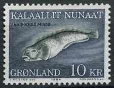Greenland 1984 SG#151 10k Spotted Wolffish MNH #A86832