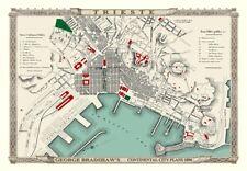 George Bradshaw'S CONTINENTAL Piano della città di Trieste 1896 - 1000 Pezzo Puzzle