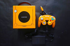 LOOSE CONSOLE NINTENDO GAMECUBE ORANGE JAPAN Very.Good.Condition